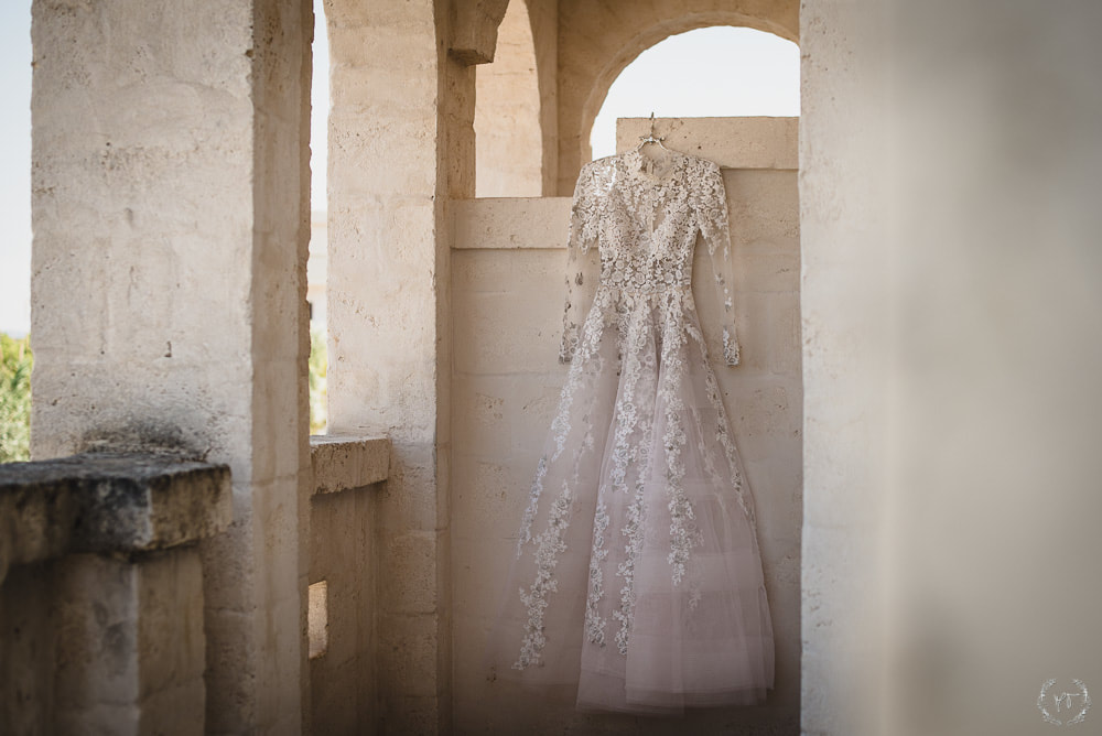 Vogue Wedding Borgo Egnazia Bride Dress